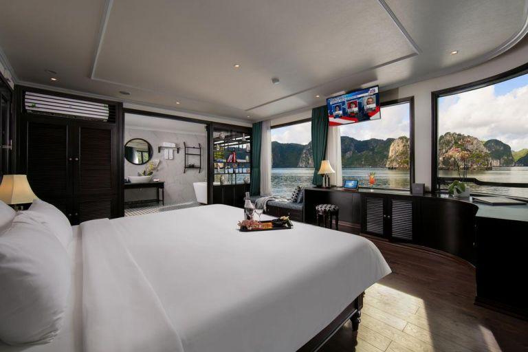 Terrace suite (second floor)